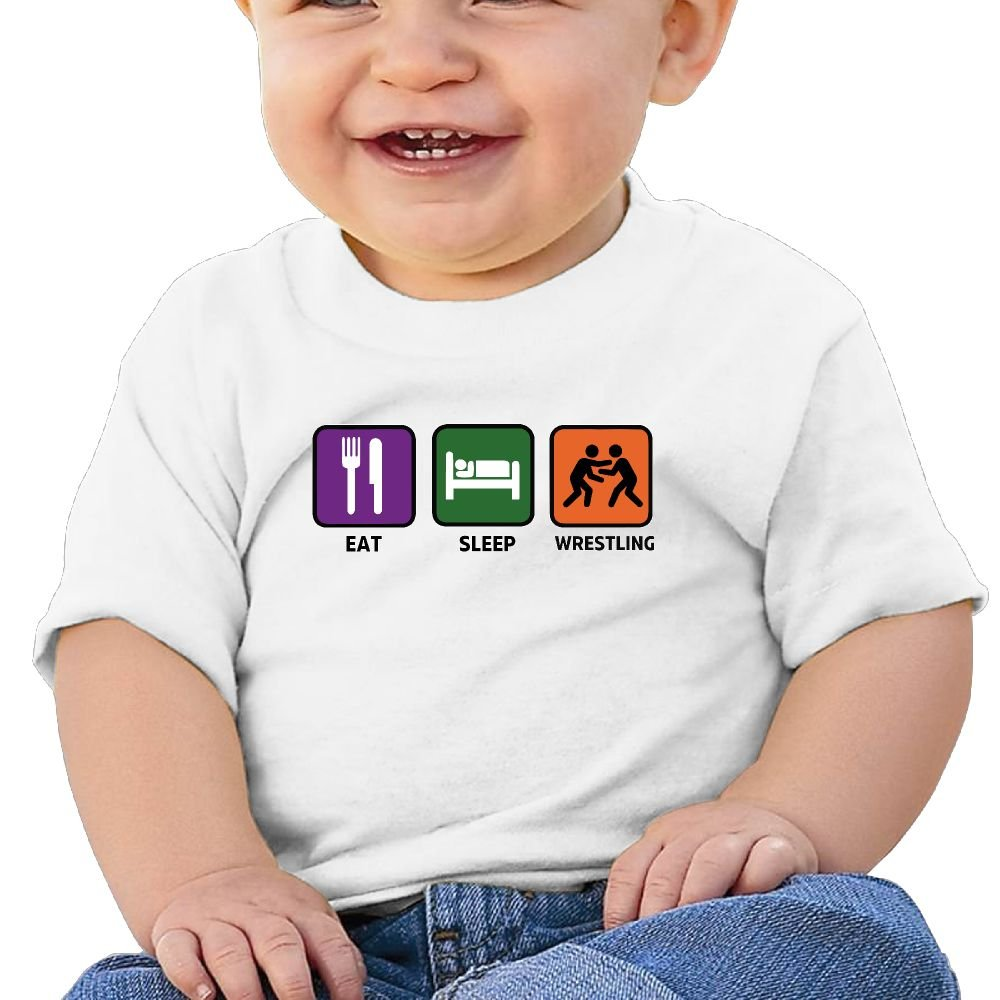 Sfjgbfjs Baby T-Shirt Love Wrestling Soft and Cozy Infant T-Shirt
