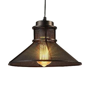 ▷ Lámpara industrial Loft metálico Barra de luz Sombra ...