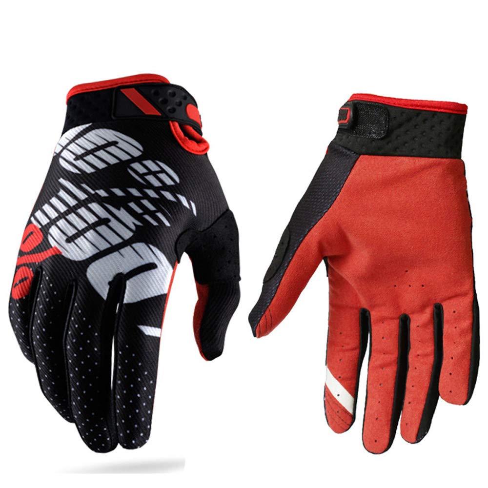 Guanti da corse motociclistiche per uomini e donne adatti per attivit/à all/'aria aperta e motociclismo con dita completamente coperte