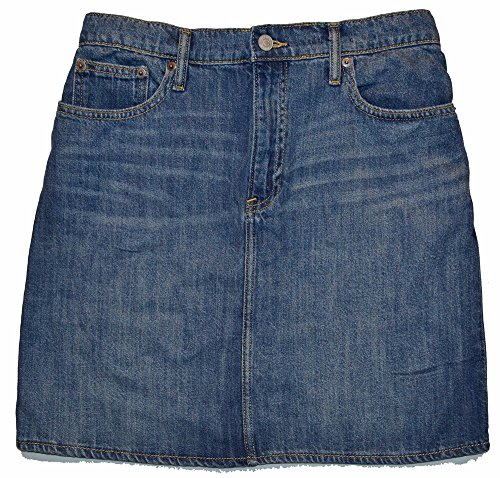 - GAP Womens Blue Denim Mini Pencil Jean Skirt 25/0