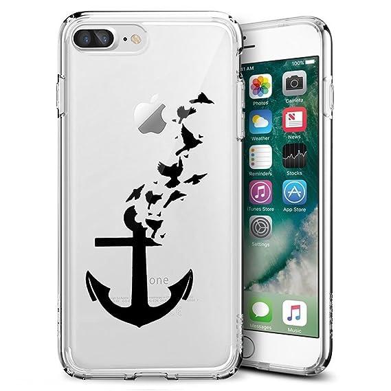 amazon com case for iphone 8 plus, iphone 7 plus tpu case custom