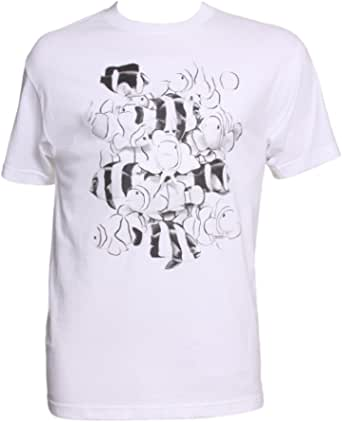 Mens Color Changing School of Fish T-Shirt