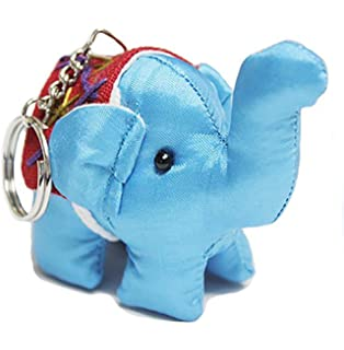 Amazon.com: Wrapables hecho a mano Thai elefante llavero ...