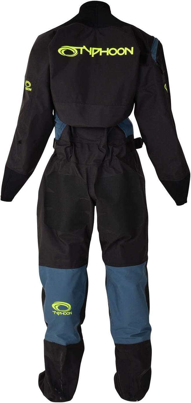 Typhoon 2020 Ladies Ezeedon 4 Drysuit 100175 & Undersuit - Black ...