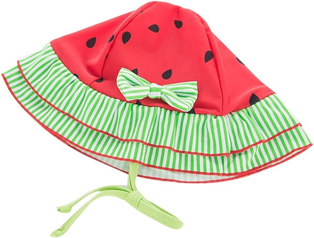 Collager Toddler Girls Tankini Bikini 3 Pieces Swimwear Watermelon Swimming Bathing Swimsuit