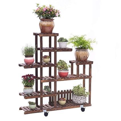 ACZZ Soporte para Plantas Soporte para Plantas, Soporte de Exhibición de Plantas Multicapa Anticorrosión,
