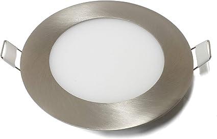 4er Ultraslim LED Panel Leuchte Deckenlampe 6W Dimmbar Neutralweiß Rund Dünn