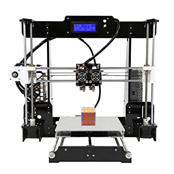 BESTSUGER Impresora 3D, boquillas Dobles Impresora 3D Volumen de ...