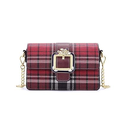 Bolso de Mujer Pequeño Bolso de Hombro de Cadena de Oro Mini Bolso de Noche Clásico