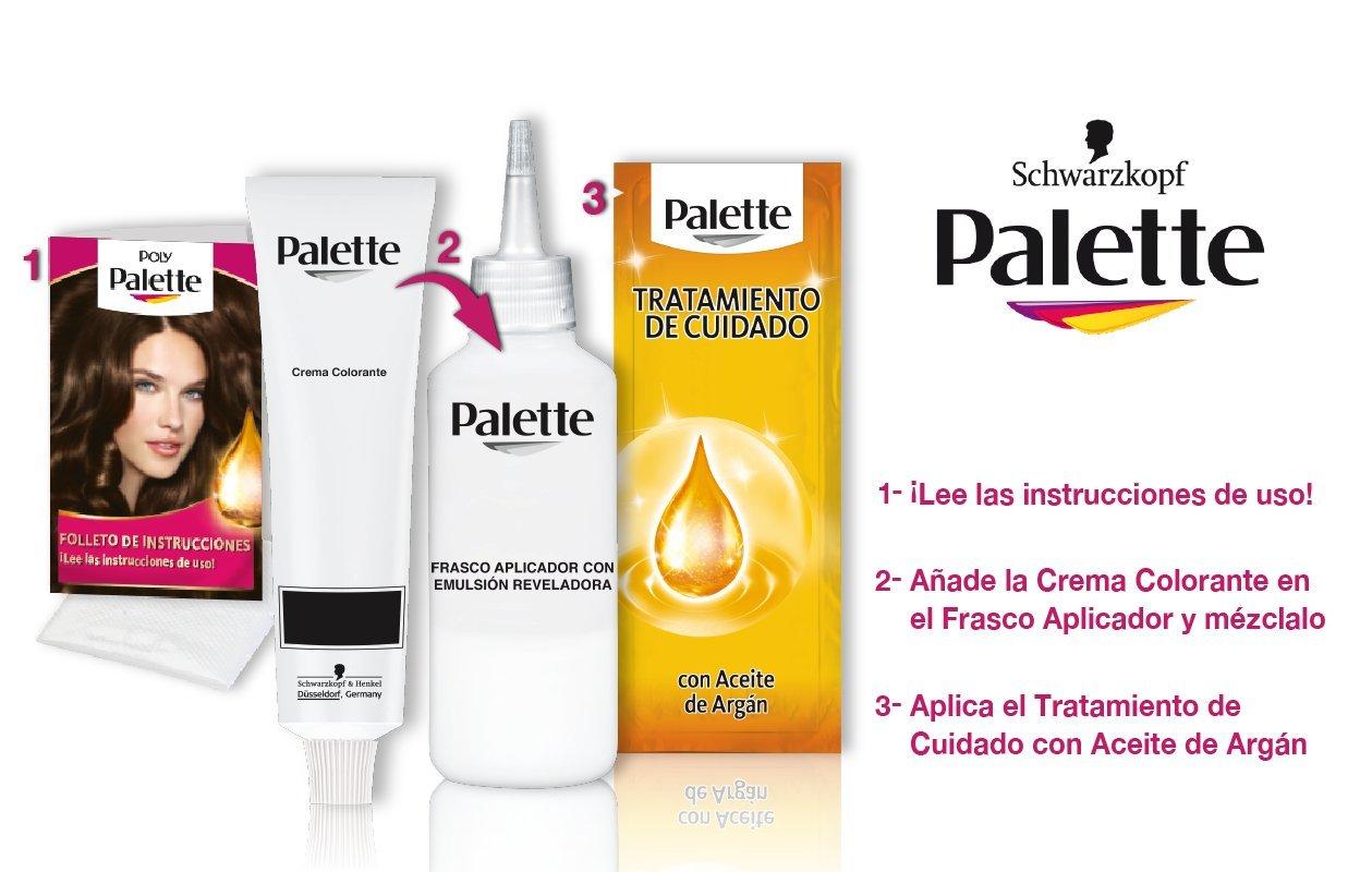 Palette Intense Cream Coloration Intensive Coloración del Cabello ...