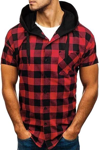 Casual Camisetas, MISSWongg Moda para Hombre Verano ...
