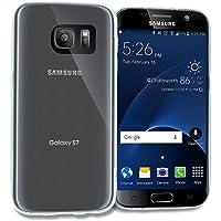Zore 3403 Galaxy S7 ile Uyumlu Kılıf, Ultra İnce Silikon Kapak, 0.2 mm, Renksiz