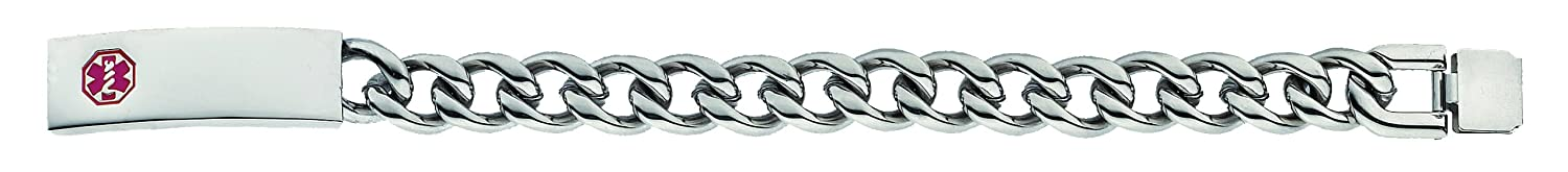 Heavy Link Bracelet with Self Closure