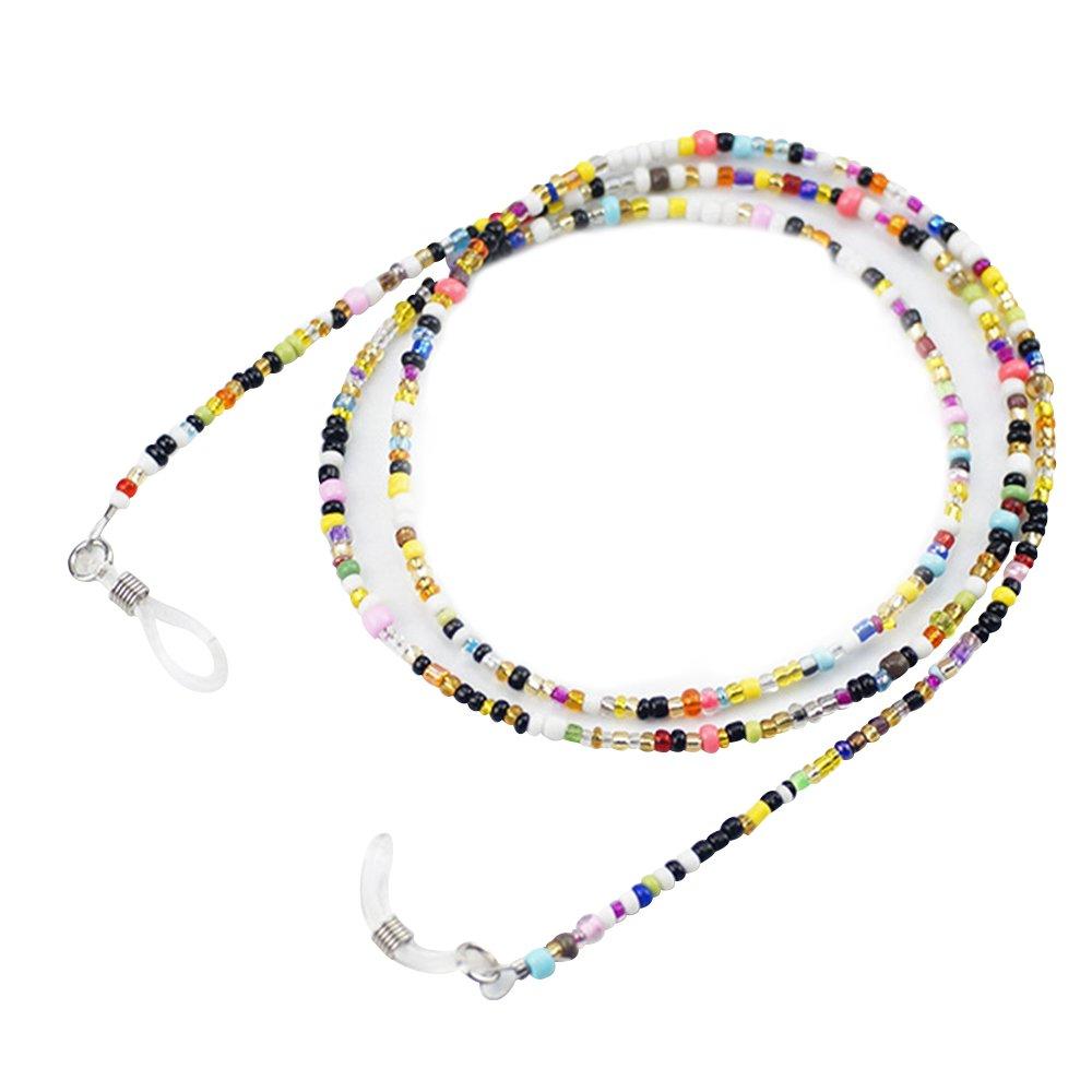 Forepin® Kristall Brille Kette Schnur Sonnenbrille Brille Kette Brillenhalter (70cm)