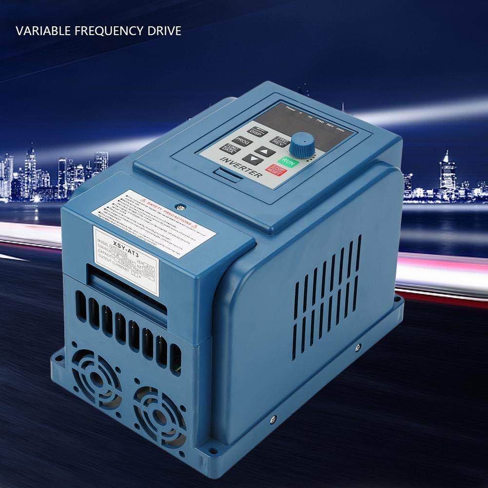 Controlador de velocidad VFD de variador de frecuencia para motor de CA trif/ásico de 0,75 kW