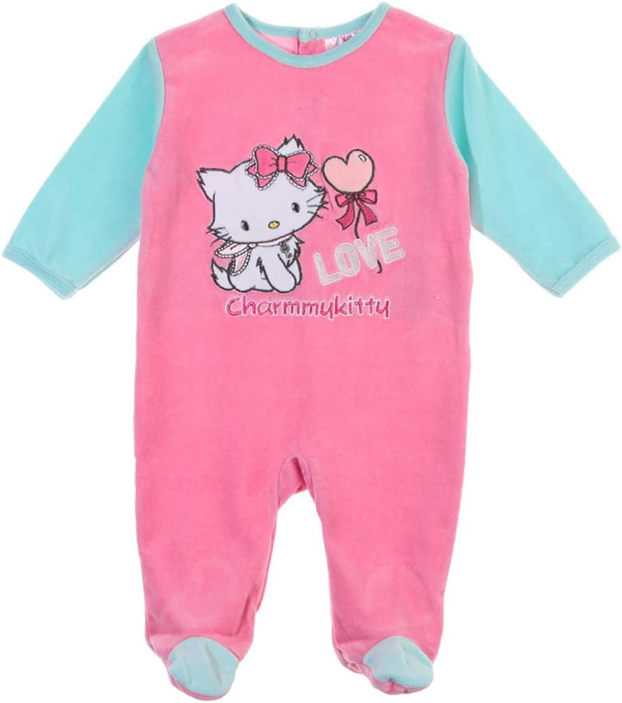 Pyjama bébé fille Charmmy kitty Love rose/turquoise 23mois ...