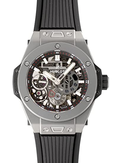newest 8713c 8e40b Amazon | [ウブロ] HUBLOT 腕時計 ビッグバン メカ10 チタニウム ...