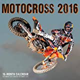 Motocross 2016: 16-Month Calendar September 2015 through December 2016