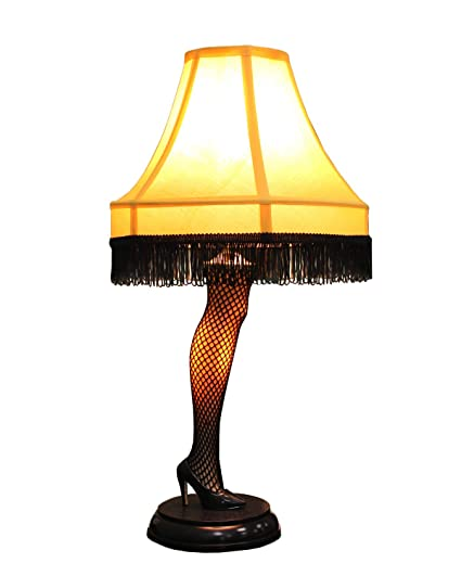 official gift a christmas story 20 inch leg lamp prop replica by neca desk lampsa christmas story 20