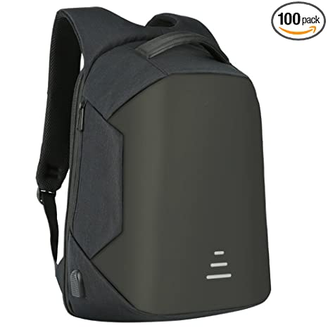 4e897c6dfbee Amazon.com  HS Magnet Anti Theft Business Laptop Backpack with USB Charging  Port headphone Port