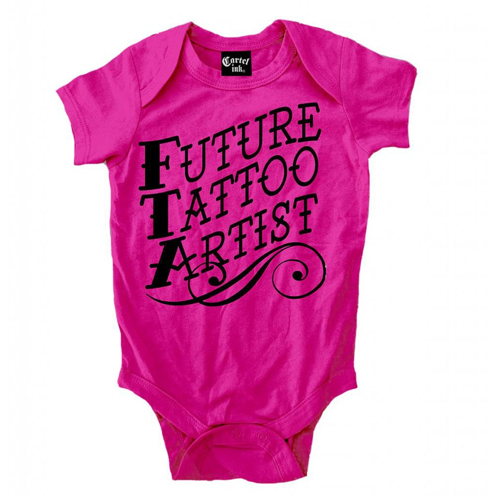 Amazon.com: Kids Cartel Ink Future Tattoo Artist Infant One ...