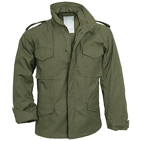 f35fdf16aae Surplus M65 Jacket Olive  Amazon.co.uk  Clothing