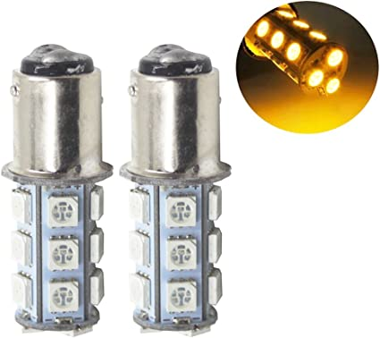 Yolu 2pcs 1157 18SMD S25 BAY15D Red Super bright Strobe LED lights Brake Lights Flashing 1154 1157 2057 2357 3497 7528