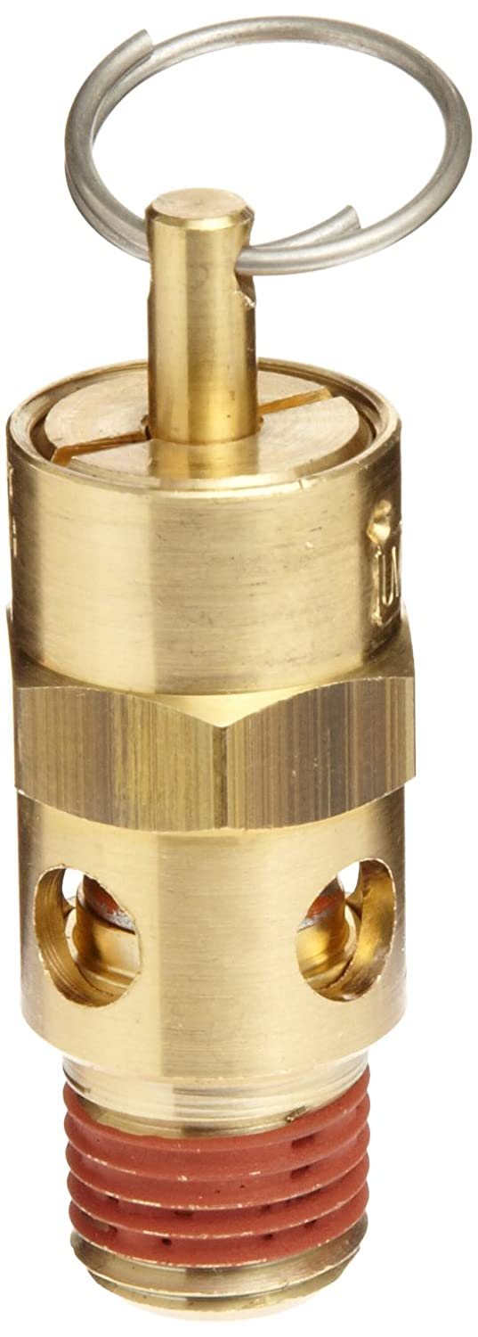 "Control Devices ST Series Brass ASME Safety Valve, 200 psi Set Pressure, 1/4"" Male NPT"