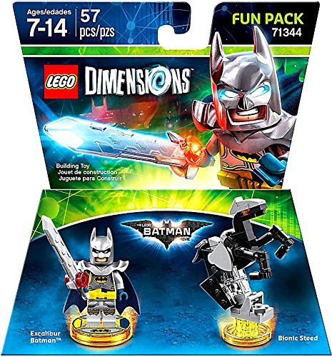 Excalibur Batman + Bionic Steed Fun Pack - LEGO Dimensions - Not Machine Specific (Buy A Hoverboard)
