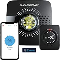 Chamberlain MyQ Smart Garage Hub & Wi-Fi enabled with Smartphone Control (Black)