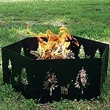 Texsport Portable Outdoor Campfire Ring, Outdoor Stuffs