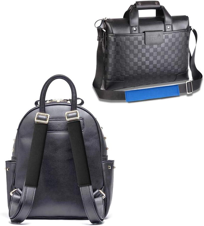 4 Unidades para Adultos y ni/ños Suaves universales AFUNTA Color Negro y Azul Almohadillas de Hombro para cintur/ón de Seguridad de Coche c/ómodas