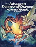 Advanced Dungeons and Dragons Monster Manual, Gary Gygax, 0880380527