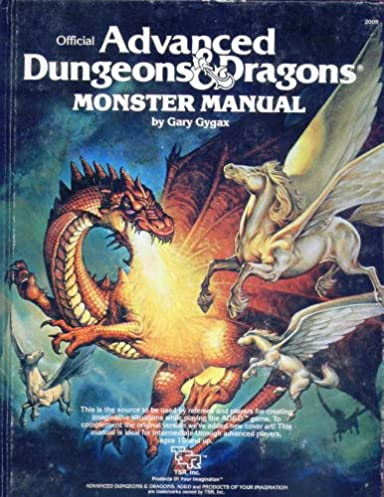 advanced dungeons and dragons monster manual gary gygax rh amazon com dungeon and dragons monster manual 4th edition pdf dungeons and dragons monster manual 3.5