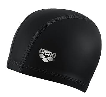 Arena - Gorro natación - Negro - M  Amazon.es  Deportes y aire libre 776b721e1b0