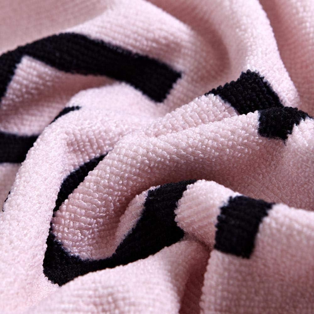 winhome1 Asciugamano da Spiaggia Stampato Telo Mare/Rettangolare/Stampa a trasferimento Termico Asciugamano Grande/Telo/Mare Telo Mare/,/Rosa