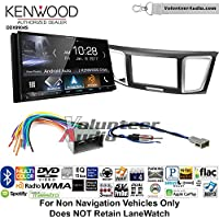 Volunteer Audio Kenwood DDX9904S Double Din Radio Install Kit with Apple CarPlay Android Auto Bluetooth Fits 2013-2014 Honda Civic