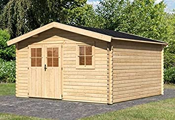 Gartenhaus Mit Fußboden Und Dach ~ Karibu gartenhaus 38 mm amersfoort gr. 6 inkl. fußboden und