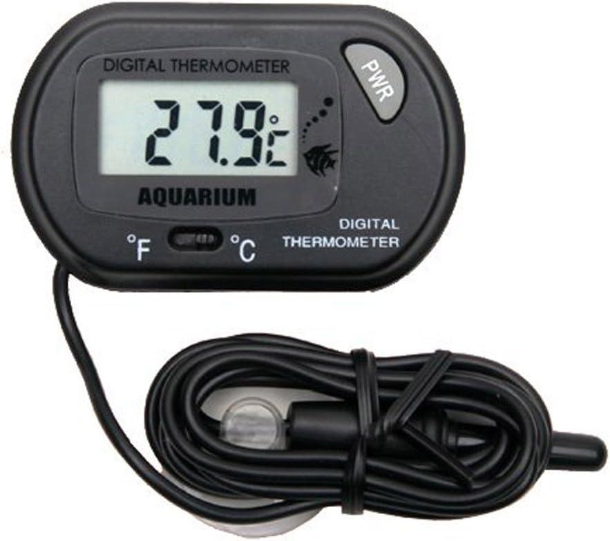 censhaorme 1PCS Mini Digital LCD Voiture R/éfrig/érateur incubateur Fish Tank Compteur Thermom/ètre Gauge