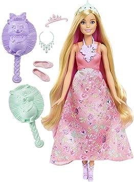 Barbie - Muñeca mil Peinados mágicos, Rubia: Amazon.es: Juguetes y ...