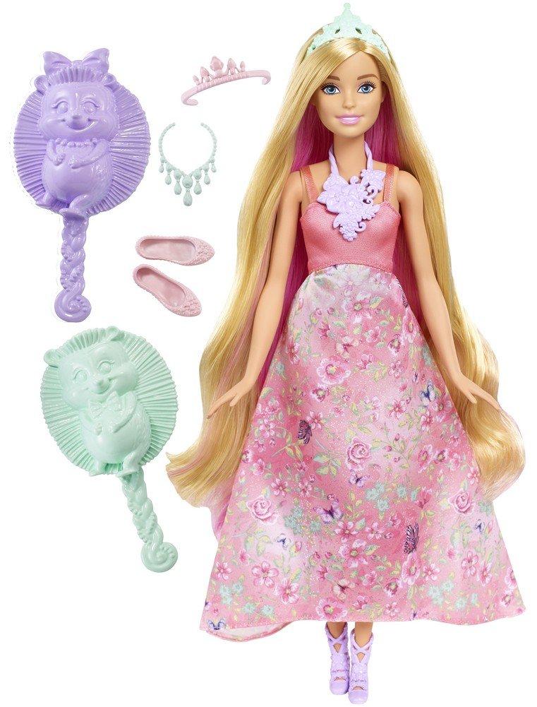 Barbie Mattel DWH42 - Dreamtopia Farbfrisuren Prinzessin ...