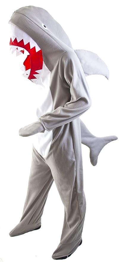 Amazon.com: Adult Shark Costume STD, Size Large: Clothing