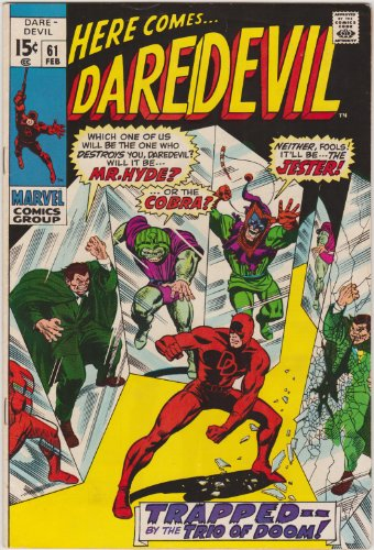 Daredevil #61 Silver Age Marvel Comic