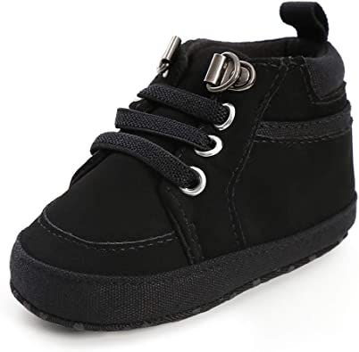 Amazon.com | SOFMUO Baby Boys High-Top