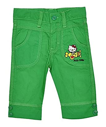 d4bcbd109 Amazon.com: Hello Kitty Girl's Cotton Capri Pants Sizes 2 To 6 Years:  Clothing