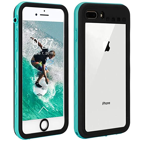 timeless design 2daed 659c0 iPhone 8 Plus & iPhone 7 Plus Waterproof Case | Touchable Protection  Cellphone Cover | Underwater Full Body Shock-Proof Dirt-Proof Soft Cases  for ...