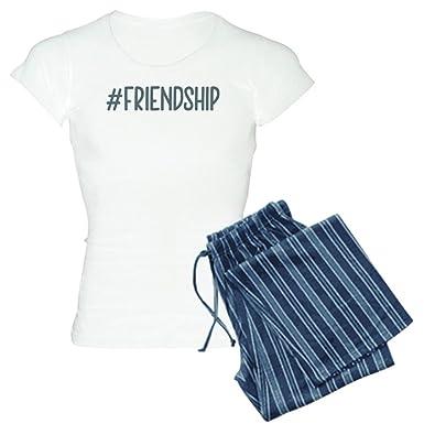 17e0ab77 Amazon.com: CafePress Hashtag Friendship - Womens Novelty Cotton Pajama  Set, Comfortable PJ Sleepwear: Clothing