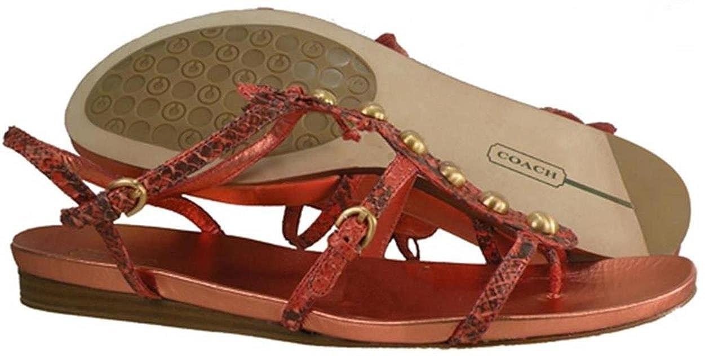 Amazon.com: Coach Silvana serpiente mujer zapatos tamaño us ...