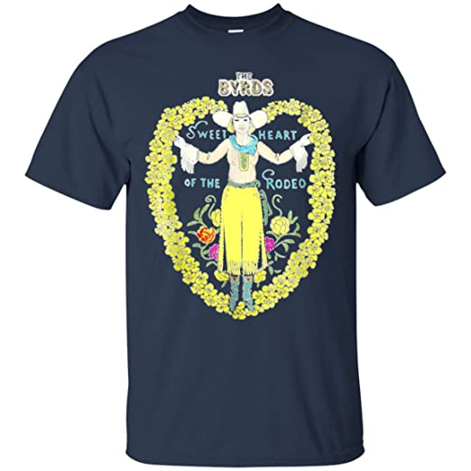 32a4599f The Byrds Sweetheart of The Rodeo T-Shirt | Amazon.com