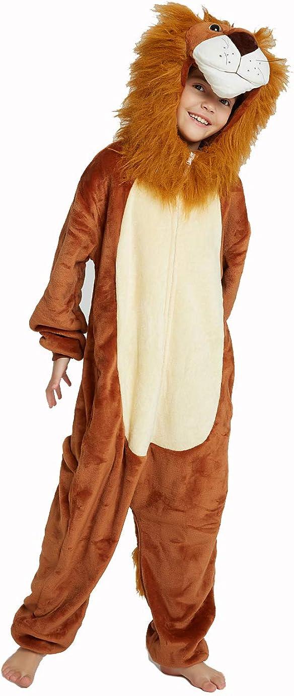 CADong Children Unicorn Cosplay Unisex Toddler Flannel Animal Novelty Pyjamas Nightwear Costumes Halloween